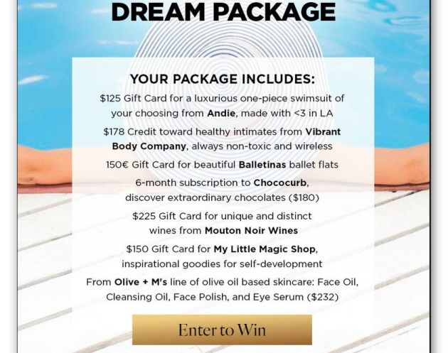 Win the Summer Dream Package