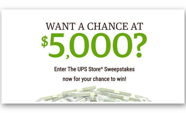 https://www.theupsstore.com/sweepstakes
