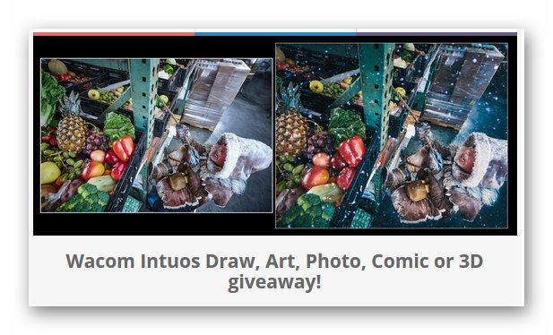 Wacom Intuos Draw, Art, Photo, Comic or 3D giveaway!