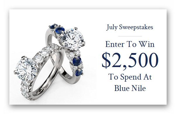 Blue Nile $2,500 Gift Card Sweepstakes