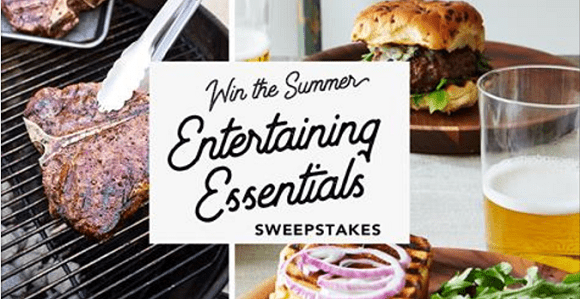 Summer Entertaining Essentials Sweepstakes