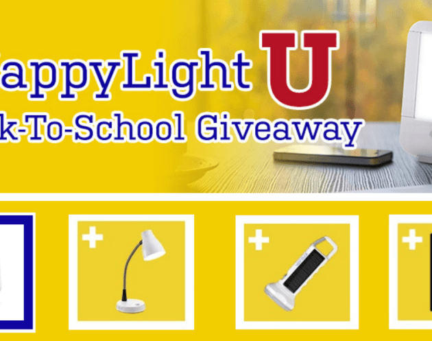 HappyLight U Back to School Giveaway