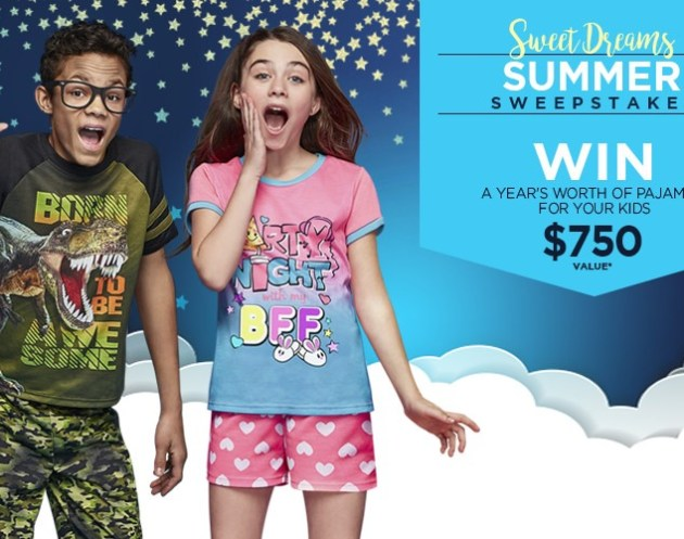 JELLIFISH KIDS SWEET DREAMS SUMMER SWEEPSTAKES