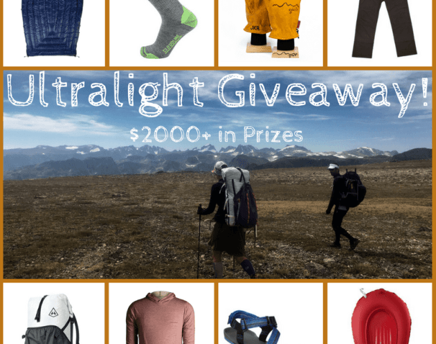 Ultralight Giveaway Win $2,000+ in prizes