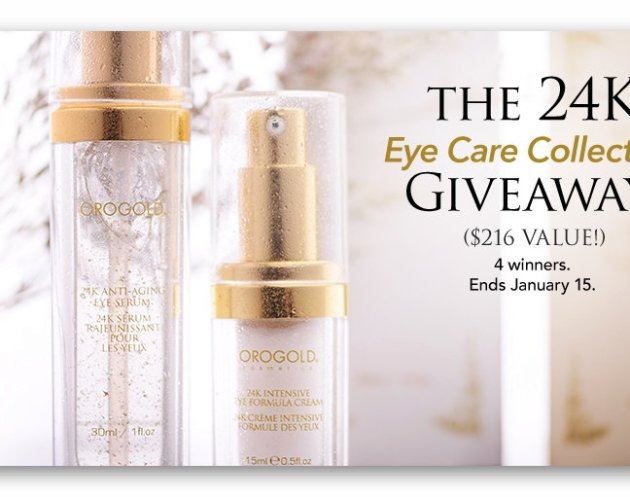 OROGOLD 24K Eye Care Collection Giveaway