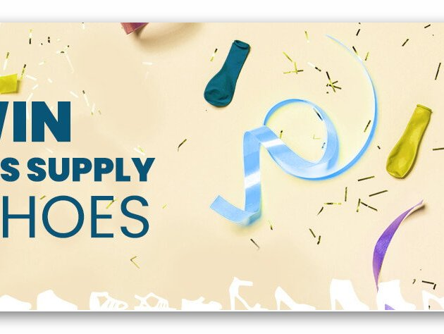 Win a Year's Supply of Shoes