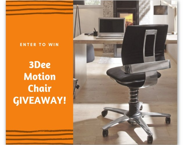 Enter to Win a Free 3Dee Motion Chair