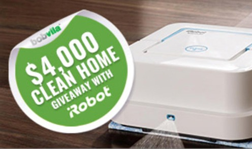 Win a iRobot Vacuum and Braava Mopping Robot