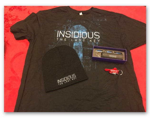 """Win an """"Insidious: The Last Key"""" Prize Pack"""