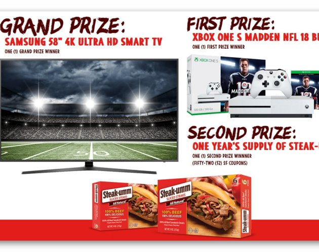 "Win a 58"" 4K HDTV, Xbox One Bundle, and More"