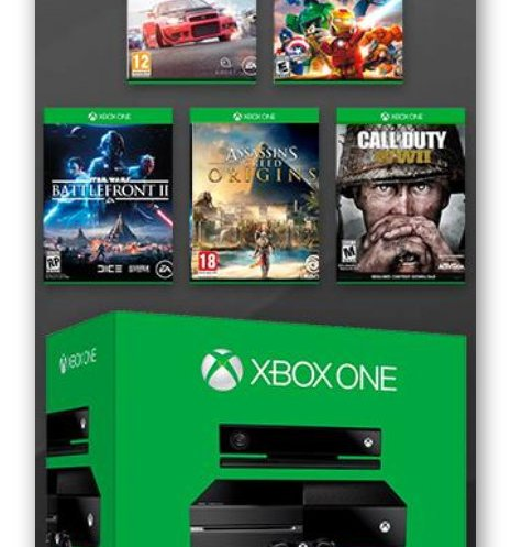 The XBox One & XBox One Game Bundle Sweepstakes