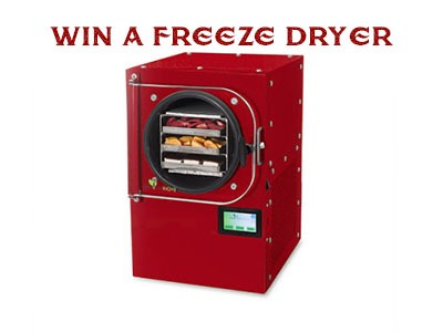 Harvest Right Freeze Dryer Sweepstakes