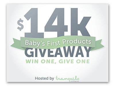 $14K Baby's First Product Giveaway