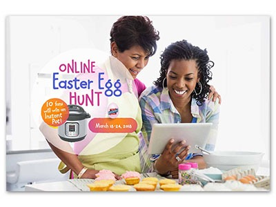 Dixie Crystals Online Easter Egg Hunt