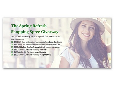 Spring Refresh Shopping Spree Giveaway