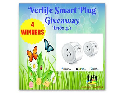 Verlife Smart Plug Giveaway