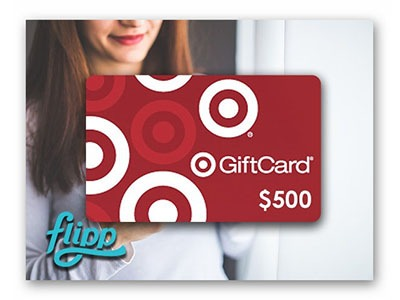 Win a $500 Target Gift Card from Flipp