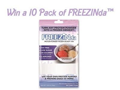 FREEZINda™ 10 Pack Sweepstakes