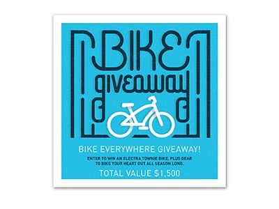 Bike Everywhere Giveaway