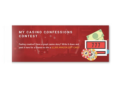 My Casino Confessions Contest