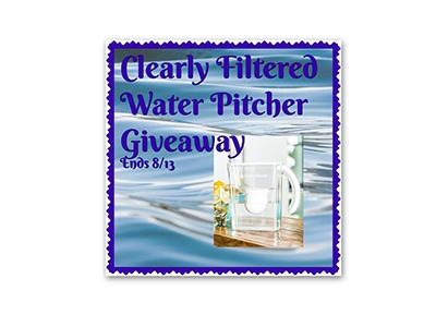 Clearly Filtered Water Pitcher Giveaway