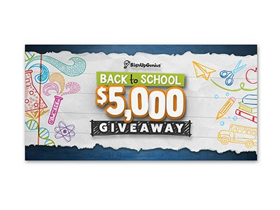 $5,000 Back to School Giveaway