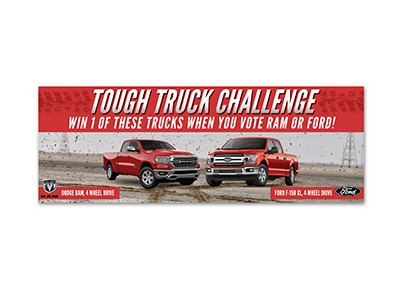 Tough Truck Challenge Sweepstakes