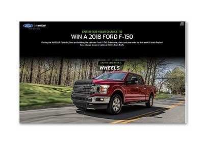 Win a 2018 Ford F-150