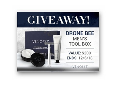 Win a Drone Bee Men's Tool Box