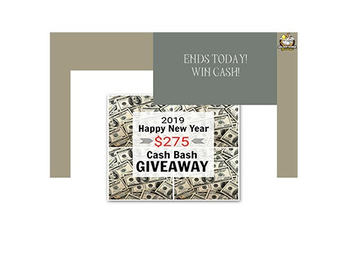 Happy New Year Giveaway