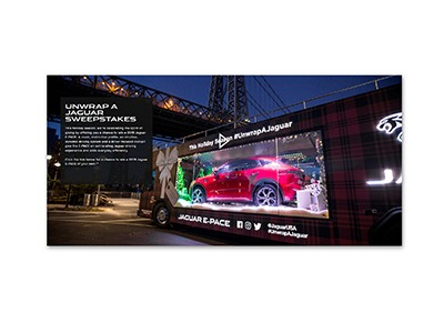 Unwrap a Jaguar Sweepstakes