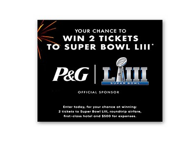 Win 2 Tickets to Super Bowl LIII