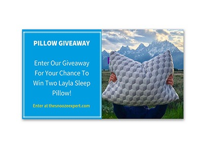 Win a Layla Sleep Pillow