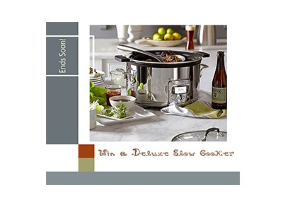 Win a Deluxe Slow Cooker
