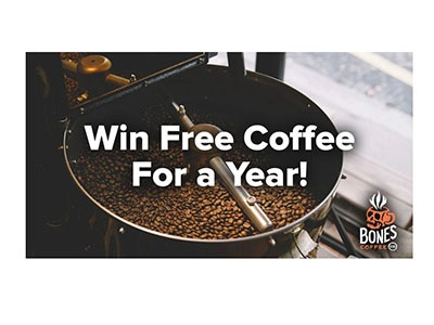 Win Free Coffee for a Year