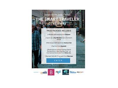 Enter the Smart Traveler Giveaway