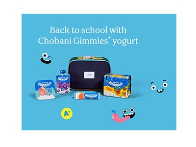 Chobani Back to School Sweepstakes