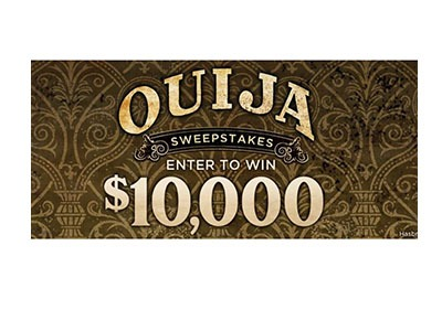 Spirit Halloween's Ouija Sweepstakes