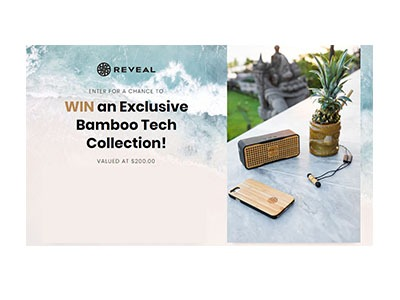 Bamboo Tech Collection Sweepstakes