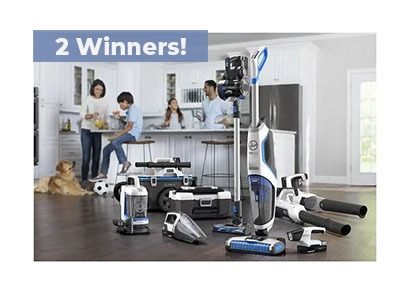 Bob Vila Hoover Clean Sweep Giveaway