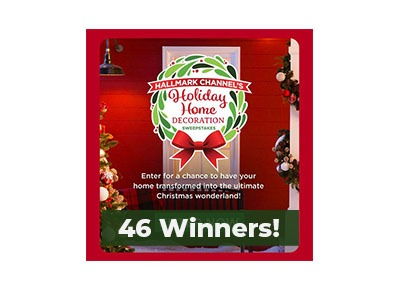 Hallmark Channel's Holiday Sweepstakes