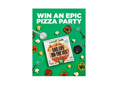 CAULIPOWER Pizza Party Sweepstakes