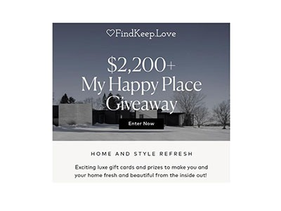 My Happy Place Giveaway