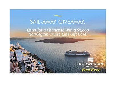 Sail Away Giveaway