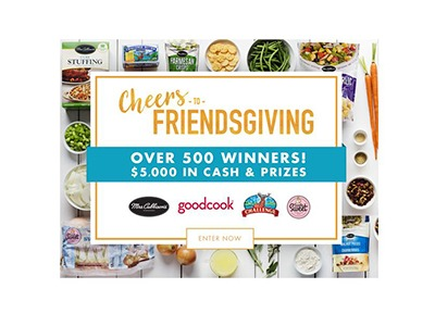 Mrs Cubbison's Friendsgiving Sweepstakes