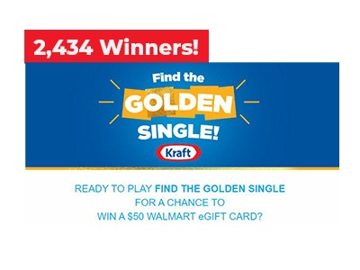 Kraft Walmart Gift Card Sweepstakes