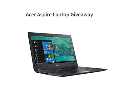 Acer Aspire Laptop Giveaway