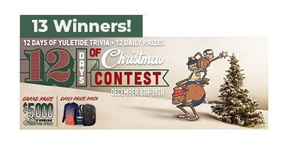 Road iD 12 Days of Yuletide Trivia Contest