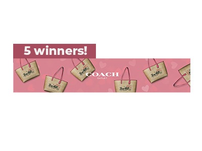 Coach Outlet Valentine's Day Sweepstakes
