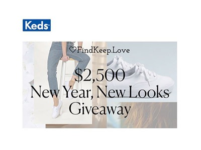 Keds New Year New Look Giveaway